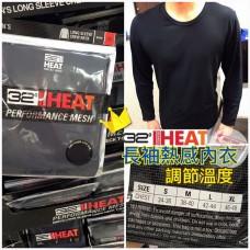 11底: 32 Heat Degrees 1套2件男裝熱感內衣 (黑色)