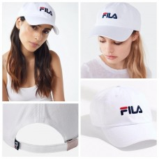 11中: FILA 可調較CAP帽 (白色)