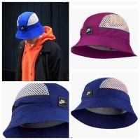 11中: Nike 防UV太陽漁夫帽 紫色