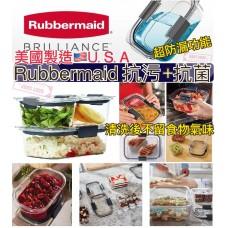 11中: Rubbermaid 仿玻璃食物盒連蓋 (1套6件)