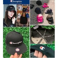 12底: Champion Twill Hat 經典Cap帽 (黑色)