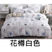 12中: Aston Home 床單套裝 (花樽白色)