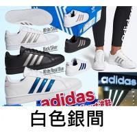 12中: Adidas Grand Court 復刻版波鞋 (白色銀間)