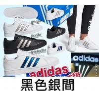 12中: Adidas Grand Court 復刻版波鞋 (黑色銀間)