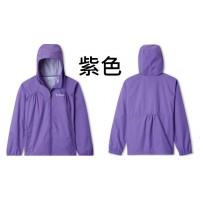 1中: Columbia 中童防水外套 (紫色)