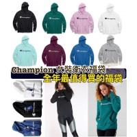 1中: Champion 長袖有帽衛衣福袋 (1套2件顏色隨機)