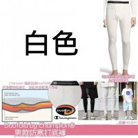 1中: Duofold by Champion 男裝防寒打底褲 (白色)