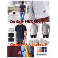 現貨: Champion 大人衫袖小LOGO上衣 (單件裝顏色隨機)