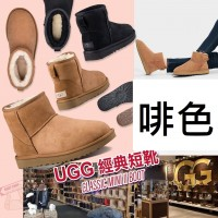 1中: UGG 短筒雪靴 (啡色)