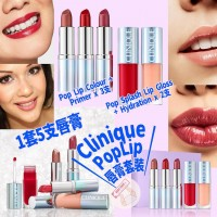 2中: CLINIQUE PopLip 唇膏套裝 (1套5支)