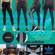6中: Adidas 女裝夏日版8分運動褲 (黑色)