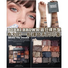 3中: Bobbi Brown NUDE DRAMA 12色眼影盤