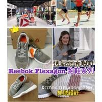 3中: Reebok Flexagon 網面透氣女裝跑鞋 (灰色)