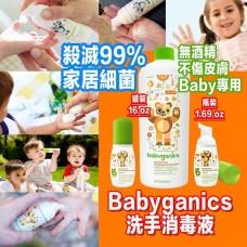 4底: Babyganics 消毒搓手液 (1大1小)