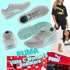 3底: Puma Vista C 女裝運動鞋 (綠配淺灰)