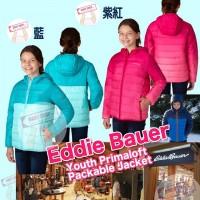 4中: Eddie Bauer 女童夾棉外套 (粉藍色)