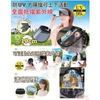 3底: 日本防紫外線遮臉太陽帽