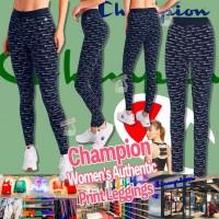 6中: Champion 女裝緊身褲 (LOGO花深藍色)