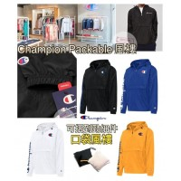 5底: Champion Packable 大LOGO風褸 (黃色)