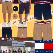 6底: Tommy Hilfiger 中童短褲連皮帶 (深藍色)