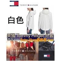 6中: Tommy Hilfiger 女裝防水外套 (白色)