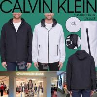 6中: Calvin Klein 男裝防風外套 (黑色)