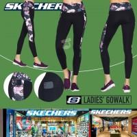 6底: Skechers 女裝花邊貼身運動褲 (黑色)