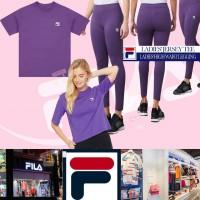 7中: FILA 女裝上衣連貼身褲套裝 (紫色)