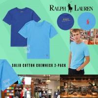 7中: Ralph Lauren Polo 中童2件裝短袖上衣 (深藍+淺藍)