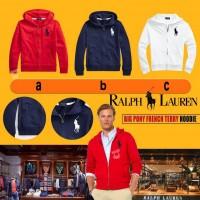7中: Ralph Lauren Polo 中童拉鏈外套 (紅色)