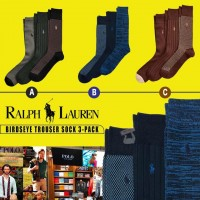 7中: Ralph Lauren Polo 男裝1套3對西裝長襪