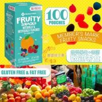 7底: Fruity Snacks 果汁軟糖 (1盒100小包)
