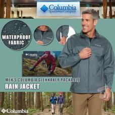 8中: Columbia 男裝防水外套 (灰色)