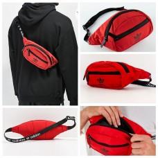 8中: Adidas 斜咩腰包 (紅色)