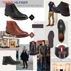 8中: Tommy Hilfiger 男裝短靴 (黑色)