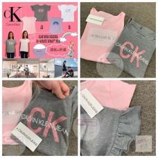 現貨: Calvin Klein 1套2件女童上衣 (顏色隨機)