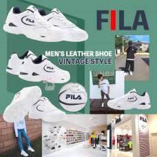 8底: FILA Vintage 男裝波鞋 (白色)