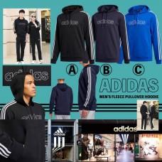 8底: Adidas 男裝長袖衛衣 (黑色)