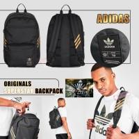 8底: Adidas Originals Superstar 黑色金間背包