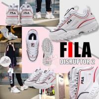 8底: FILA Disruptor 2 中童老爹鞋 (白色)