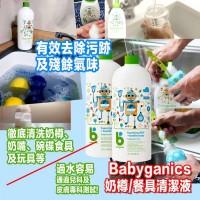 9中: Babyganics 946ml 奶樽餐具清潔液