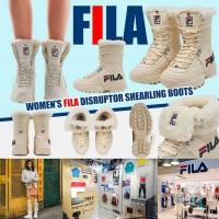 9中: FILA 女裝毛毛靴 (米白色)