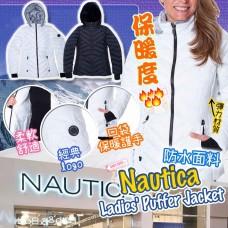 12底: Nautica 女裝夾棉外套 (黑色)