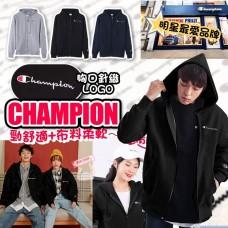 12底: Champion Full Zip 全拉鍊連帽外套 (深藍色)