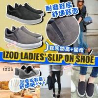 1中: IZOD Slip On 女裝鞋 (黑色)