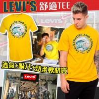 1中: Levis 海浪男裝上衣 (黃色)