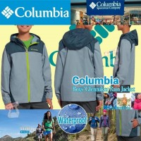 1底: Columbia 中童外套 (灰藍色)