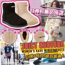 2中: Juicy Couture 女裝冬季毛毛靴 (黑色)