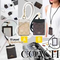 1底: Coach 掛頸卡套