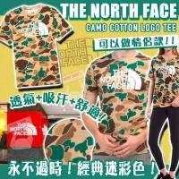 2底: The North Face 特別版迷彩男裝上衣